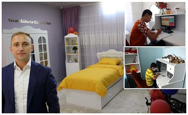 350 yetim ve öksüz çocuğun özel oda hayali gerçekleştirildi