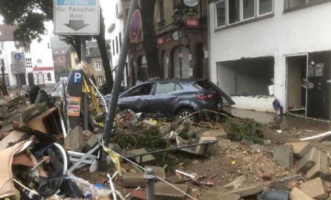 Almanya'da meydana gelen sel felaketinde ölü sayısı 81'e yükseldi