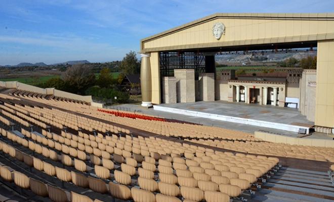 Aspendos Arena'nın arazisi yine mahkemelik