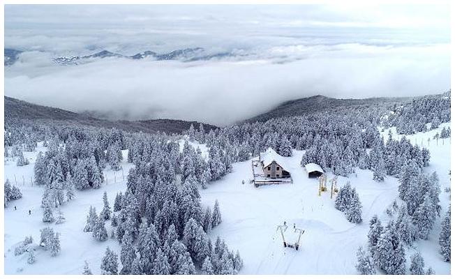 Beyaz cennet artık çevreyi kirletmeyecek: Uludağ'a 25 milyonluk arıtma tesisi