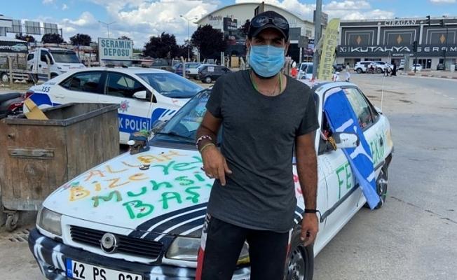 Bursa'da ki o aracın sürücüsü ortaya çıktı