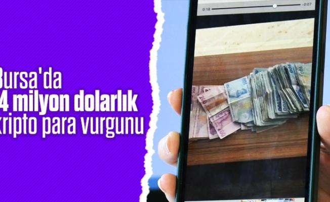 Bursa'da 14 milyon dolarlık kripto para vurgunu
