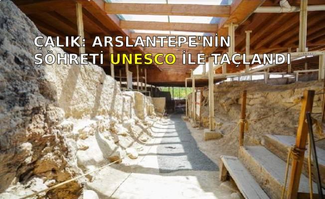 ÇALIK: ARSLANTEPE'NİN ŞÖHRETİ UNESCO İLE TAÇLANDI