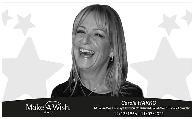 Carole Hakko hayatını kaybetti
