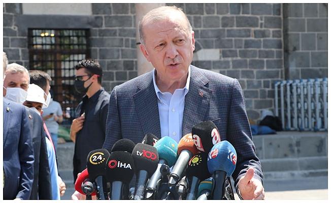 Cumhurbaşkanı Erdoğan: Bir başka Diyarbakır inşa ediyoruz