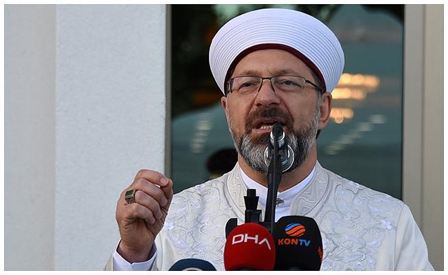 Diyanet İşleri Başkanı Erbaş: Bırakın çocuklar camide neşeli olsun