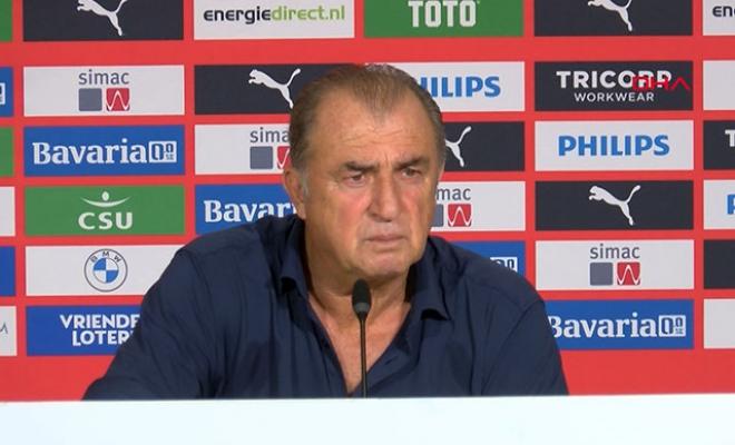 Fatih Terim: PSV hem farklı kazandı hem de tura bizden daha yakın
