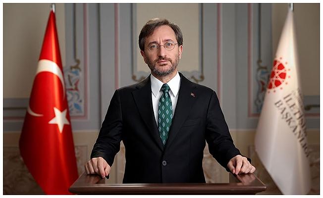 İletişim Başkanı Altun'dan konuşmasına sansür koyan YouTube'a tepki