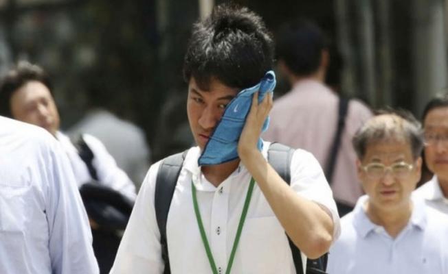 Japonya'da sıcaklar can aldı