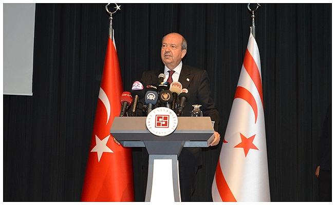 KKTC Cumhurbaşkanı Tatar: Federasyon görüşmelerindeki niyet bizleri Rum'a yama yapmaktır