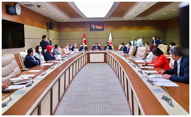 Müsilaj komisyonu ilk toplantısını yaptı