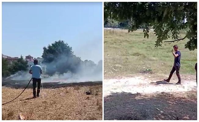Ormanı yaktığı iddia edilen şüphelinin kimliği belirlendi