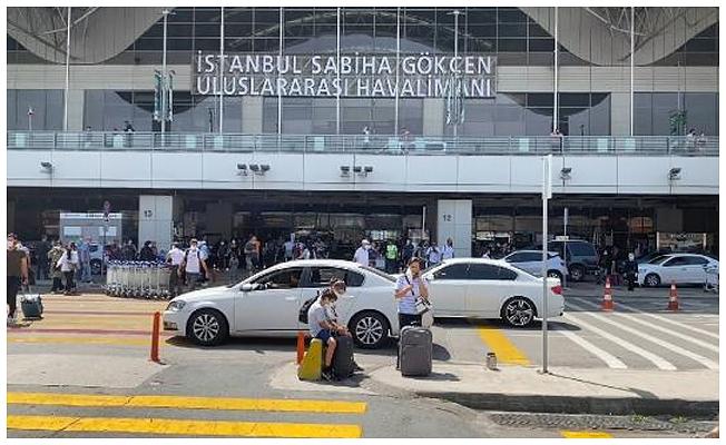 Sabiha Gökçen Havalimanı'nda yangın
