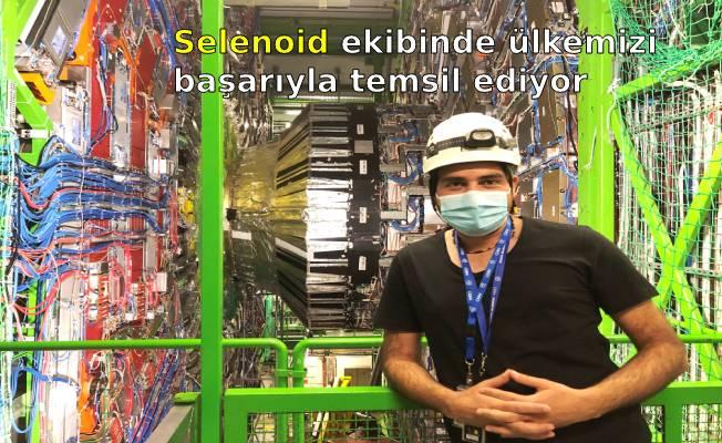 Selenoid ekibinde ülkemizi başarıyla temsil ediyor