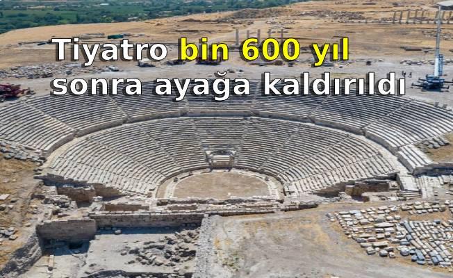 Tiyatro bin 600 yıl sonra ayağa kaldırıldı