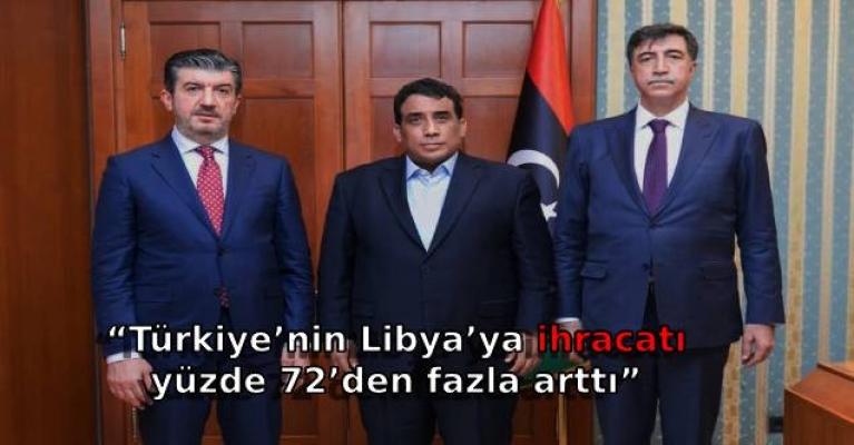"""""""Türkiye'nin Libya'ya ihracatı yüzde 72'den fazla arttı"""""""