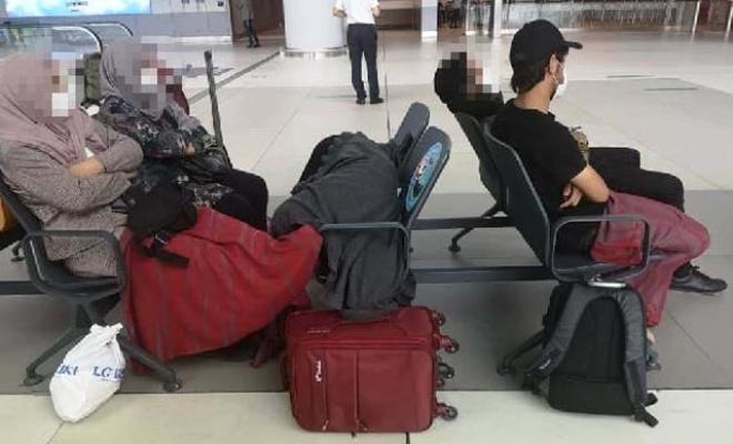 Valilikten havalimanındaki Afganların durumuyla ilgili açıklama