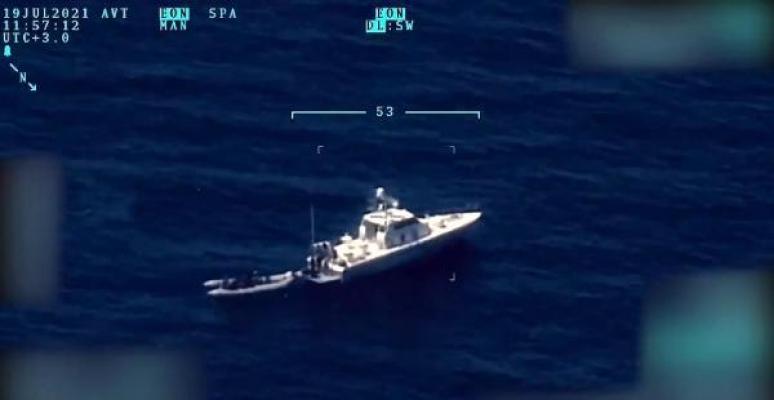 Yunanistan'ın geri ittiği 15 düzensiz göçmeni Sahil Güvenlik kurtardı