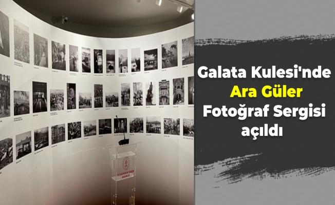 Galata Kulesi'nde Ara Güler Fotoğraf Sergisi açıldı