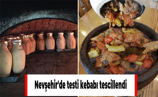 Nevşehir'de testi kebabı tescillendi