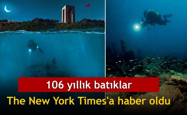 106 yıllık batıklar The New York Times'a haber oldu