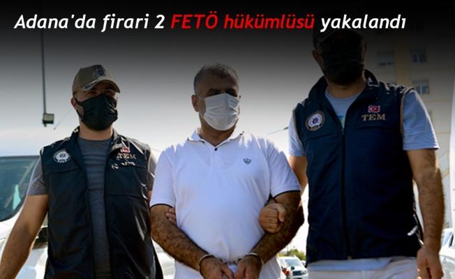 Adana'da firari 2 FETÖ hükümlüsü yakalandı