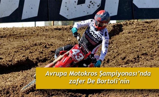 Avrupa Motokros Şampiyonası'nda zafer De Bortoli'nin