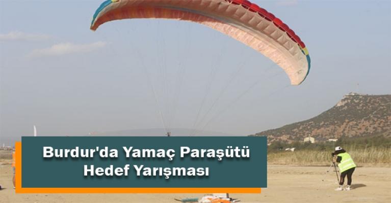 Burdur'da Yamaç Paraşütü Hedef Yarışması