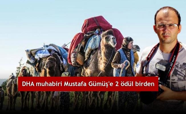 DHA muhabiri Mustafa Gümüş'e 2 ödül birden