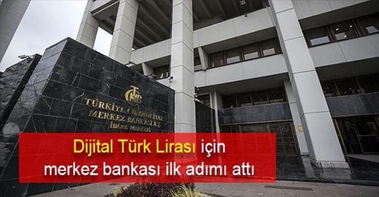 Dijital Türk Lirası için Merkez Bankası ilk adımı attı