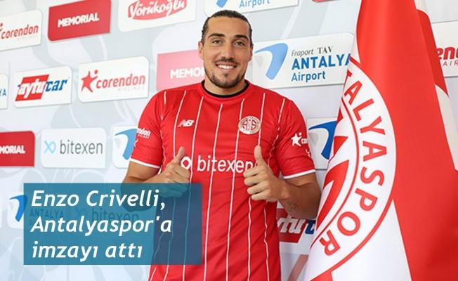 Enzo Crivelli, Antalyaspor'a imzayı attı