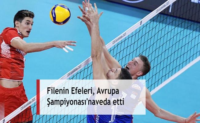 Filenin Efeleri, Avrupa Şampiyonası'na veda etti