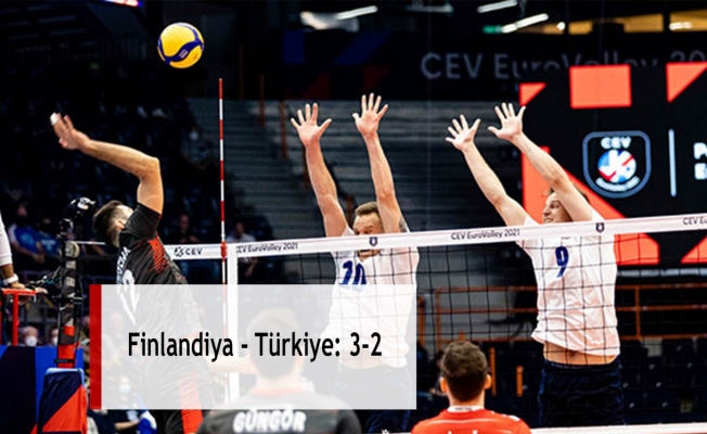 Finlandiya - Türkiye: 3-2