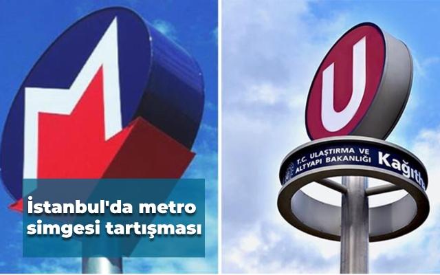 İstanbul'da metro simgesi tartışması