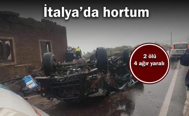 İtalya'da hortum: 2 ölü, 4 ağır yaralı