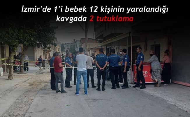 İzmir'de 1'i bebek 12 kişinin yaralandığı kavgada 2 tutuklama