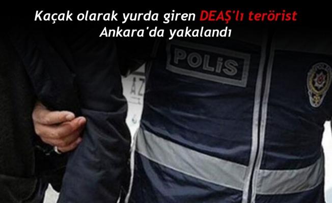 Kaçak olarak yurda giren DEAŞ'lı terörist Ankara'da yakalandı