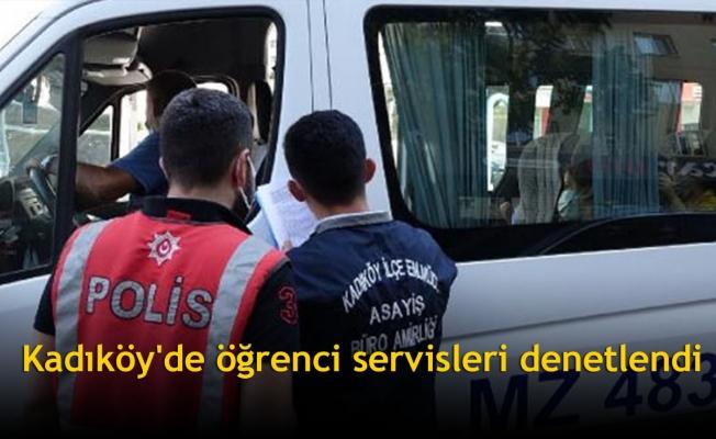 Kadıköy'de öğrenci servisleri denetlendi