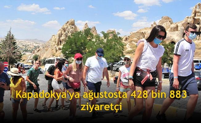 Kapadokya'ya ağustosta 428 bin 883 ziyaretçi