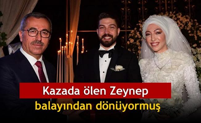 Kazada ölen Zeynep, balayından dönüyormuş