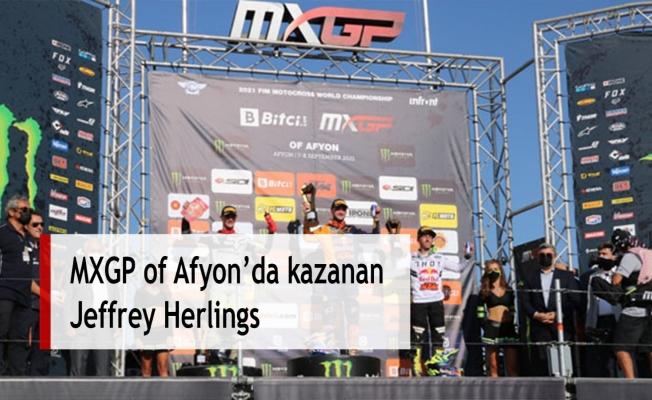MXGP of Afyon'da kazanan Jeffrey Herlings