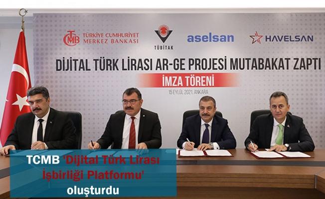 TCMB 'Dijital Türk Lirası İşbirliği Platformu' oluşturdu