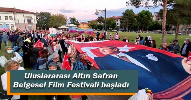 Uluslararası Altın Safran Belgesel Film Festivali başladı