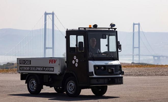 Yerli elektrikli hizmet aracı Tragger'in otonomi testleri başladı