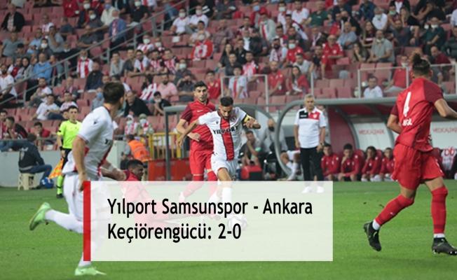 Yılport Samsunspor - Ankara Keçiörengücü: 2-0