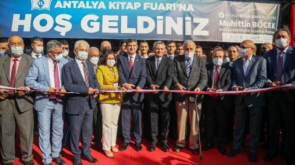 Antalya Kitap Fuarı açıldı