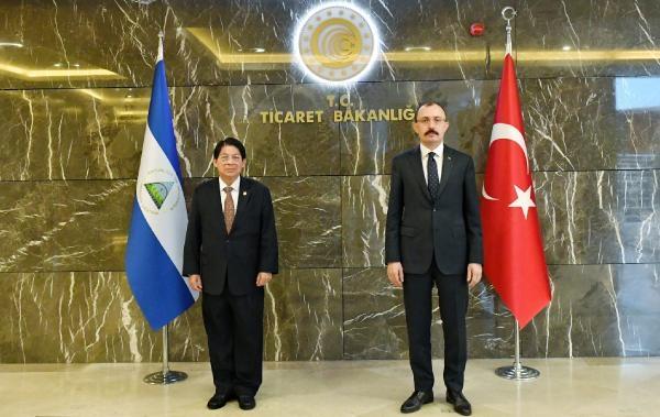Bakan Muş, Nikaragua Dışişleri Bakanı ile görüştü