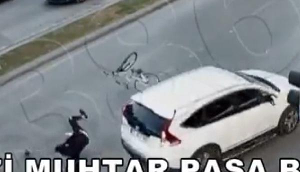 Gaziantep'te kazalar, mobese kameralarında