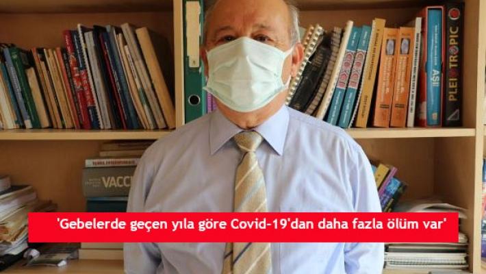 'Gebelerde geçen yıla göre Covid-19'dan daha fazla ölüm var'