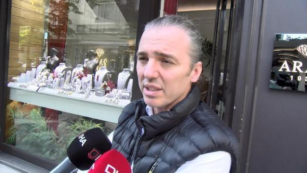 (Geniş haber) Şişli'de mücevherat mağazasında soygun: Şüpheliler kamerada